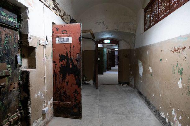 Vankilan tiloihin on nyt rakennettu näyttely.