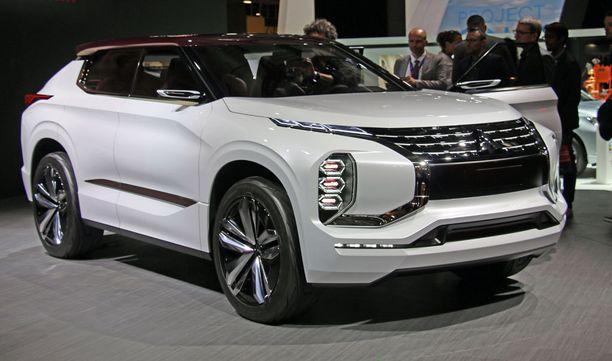 Tulevien Mitsubishien ilmettä voi peilata tästä.
