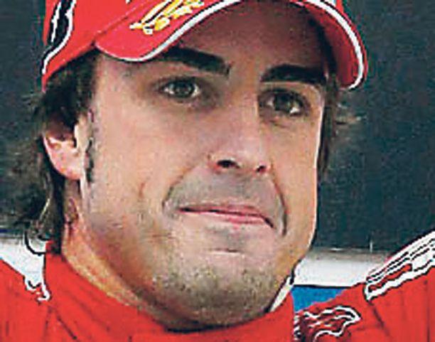 Fernando Alonso piti kovinta kiirettä Monacossa.