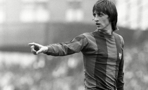 Johan Cruyff mullisti jalkapallon.