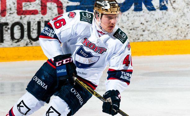 IFK-tähti Teemu Ramstedt kahmi neljä syöttöpinnaa.