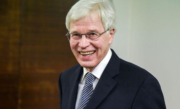 Nobel-palkittu professori Bengt Holmström oli mukana listaamassa Suomen talouden haasteita.
