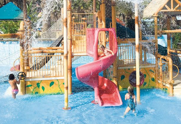 Aqualand Maspalomas on Kanarian suurin vesipuisto.