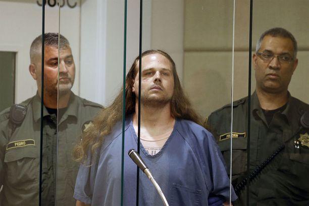 Jeremy Joseph Christiania epäillään kahdesta murhasta ja yhdestä murhan yrityksestä.