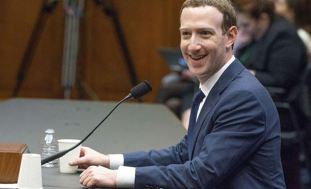 Facebookin toimitusjohtaja Mark Zuckerberg.