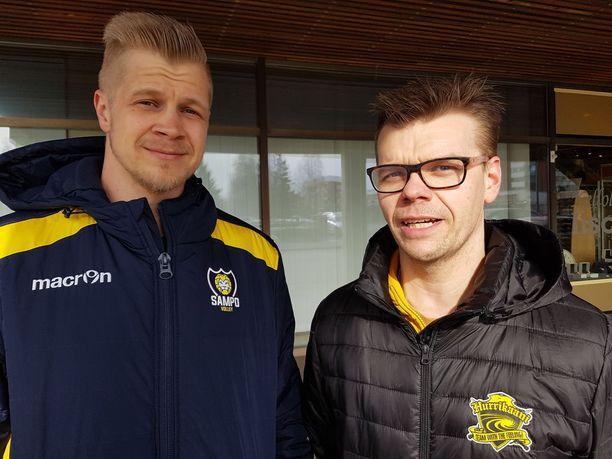 Petteri Penttinen ja Valtteri Arra uskovat, että voittajat vain taktikoivat.