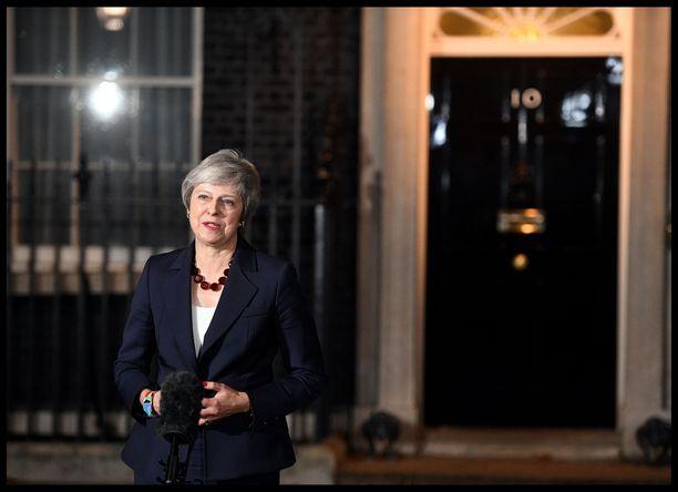 Pääministeri Theresa May kertoi keskiviikkona illalla millainen alustava sopimus EU:n kanssa on saavutettu Britannian erosta.