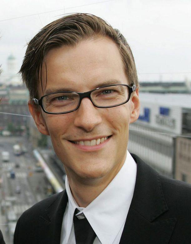 André Wickströmin tyyliä kehutaan itsevarmaksi.