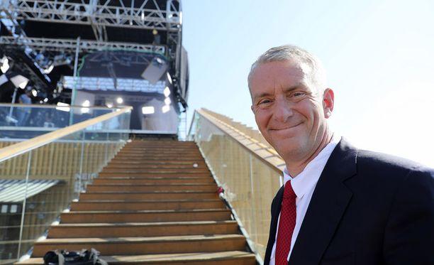 Iltalehti tapasi Nic Robertsonin Allas Sea Poolin mediakeskuksella päivää ennen huippukokousta.