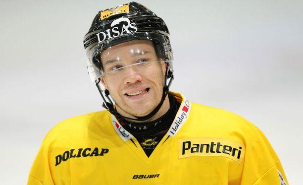SaiPa-kapteeni Ville Koho näytti esimerkkiä.