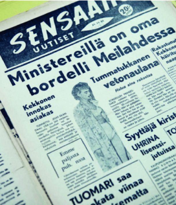 """Sensaatio Uutisia on kuvattu oman aikansa """"Seiskaksi"""". Sensaatio Uutiset ei kuitenkaan juuri tehnyt oikeita paljastuksia, vaan tempaisi skandaalinsa pitkälti tuulesta."""