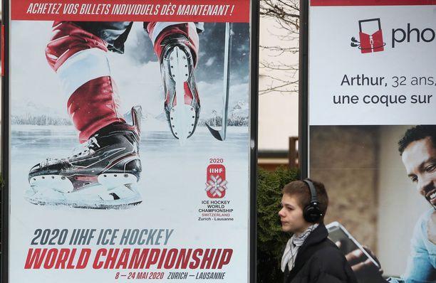2020 MM-kisat piti pelata Sveitsissä. Kisojen peruuntuminen kävi kalliiksi vakuutusyhtiöille.