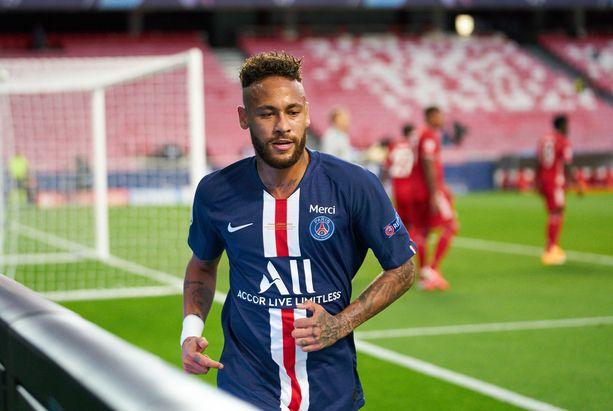 Neymar eteni joukkueensa PSG:n kanssa Mestarien liigan finaaliin, jossa saksalainen Bayern München oli lopulta parempi.