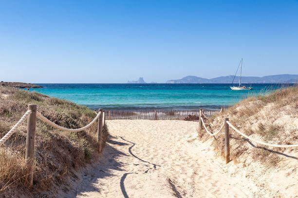 Ihana Illetesin ranta löytyy Baleaareihin kuuluvalta Formenteralta.