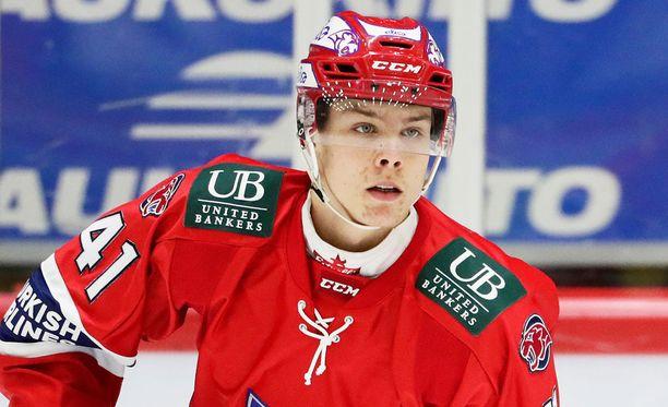 Miro Heiskanen on TSN:n papereissa Suomen ykkösnimi ensi kesän varaustilaisuudessa.