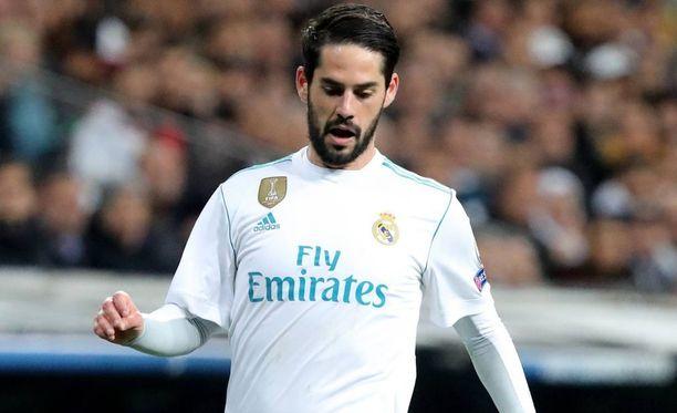 Real Madridin Isco oli hyvällä pelipäällä vanhan kotiyleisönsä edessä.