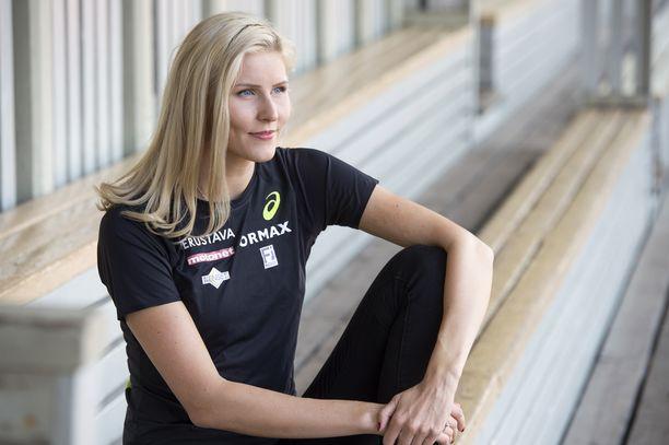 Kristiina Mäkelä olisi halunnut kilpailla elokuussa Ruotsi-ottelussa.