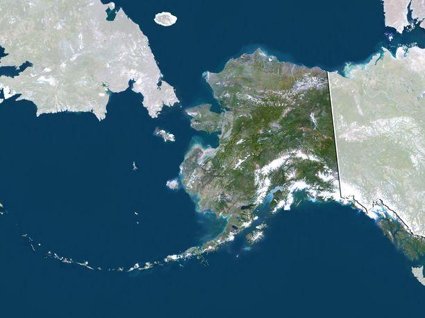 Alaskan etelärannikolle on annettu tsunamivaroitus voimakkaan maanjäristyksen jälkeen.