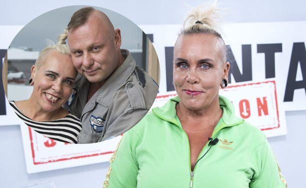Wilma Schlizewski ja Olli Väätäinen erosivat vuonna 2017.