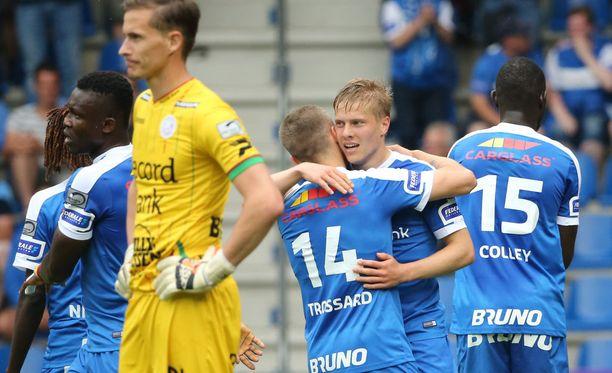 Jere Urosen ja Genkin kausi päättyi voittoon, joka vie Eurooppa-liigan karsintaan.