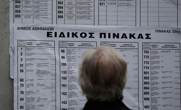 Niki Kerameus ei halua spekuloida, voisiko Syrizan voitto ajaa Kreikan ulos eurosta.
