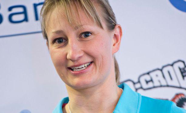 Tanja Poutiainen-Rinne ilmoitti lopettavansa kilpauransa keväällä 2014.
