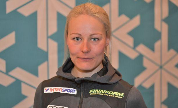 Anne Kyllönen voitti sunnuntaina Oloksella.