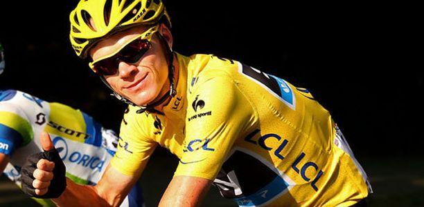 Chris Froome voitti historian sadannen maantiepyöräilyn Ranskan ympäriajon.