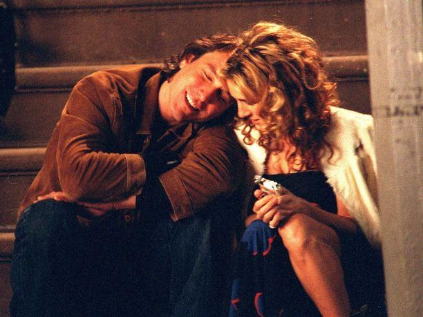 John Corbett ihastutti sympaattisena Aidanina Sinkkuelämää-sarjassa.