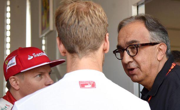 Kimi Räikkönen ei ole katkeroitunut Sergio Marchionnelle. Arkistokuva muutaman vuoden takaa.