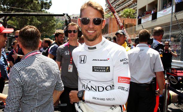Jenson Button ei turhia jännittänyt ennen paluukilpailuaan.