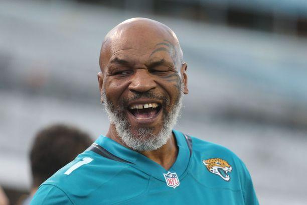 Mike Tyson on kunnossa vielä viisikymppisenä.