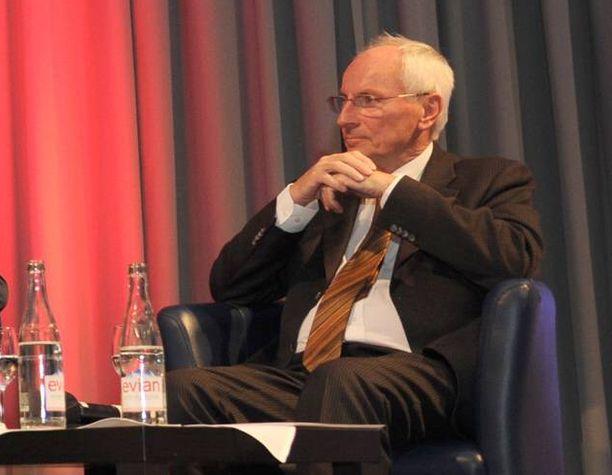Christoph Flügge työskenteli Haagin Jugoslavia-tuomioistuimessa vuodesta 2008 lähtien. Arkistokuva vuodelta 2016.