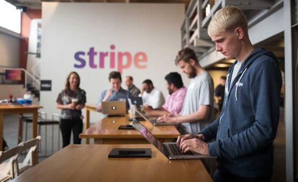 Stripen pääkonttori on San Franciscossa.