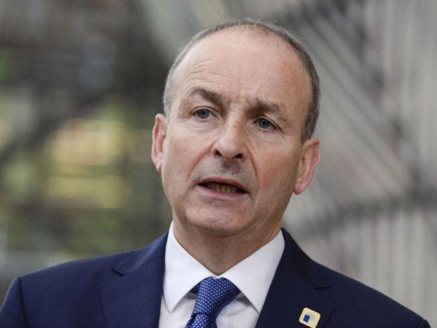 Irlannin pääministeri Micheál Martin ilmoitti maanantaina koko yhteiskuntaa koskevista tiukoista sulkutoimista.