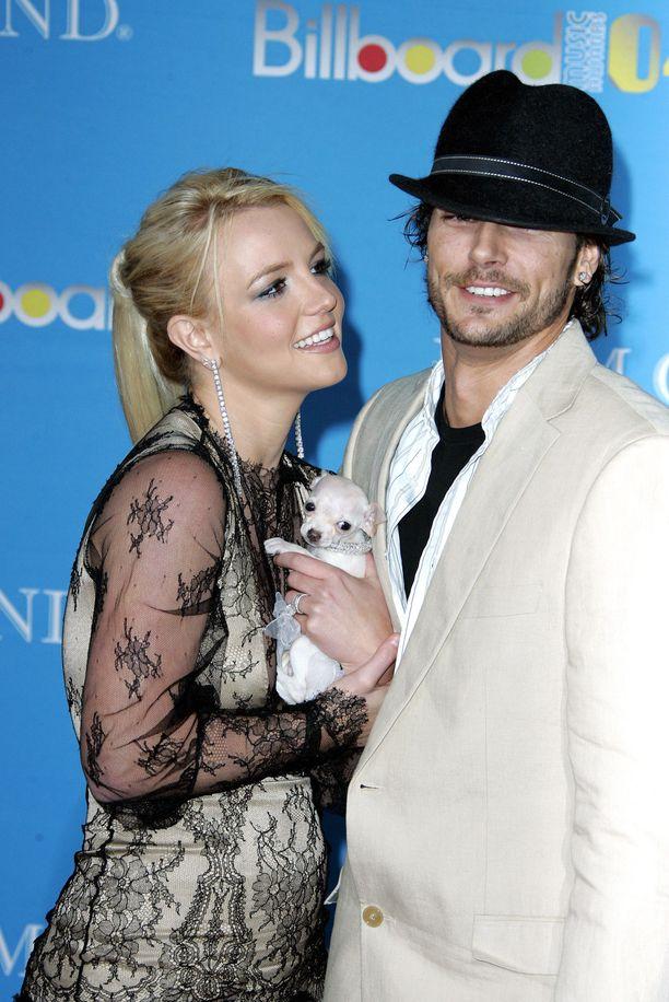Britney Spears ja Kevin Federline avioituivat vuonna 2004. Liitto kesti kaksi vuotta.
