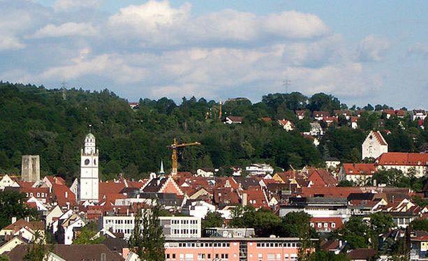 Turma tapahtui Ravensburgin kaupungin liepeillä Baden-Württembergissä.