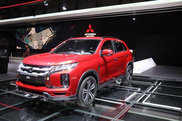 Mitsubishi ASX sai uuden keulan ja perän.