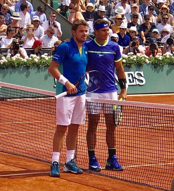 Ei tennis olekaan nuorten urhojen laji. Roland Garros'n finaalissa nähtiin kaksi yli kolmekymppistä.