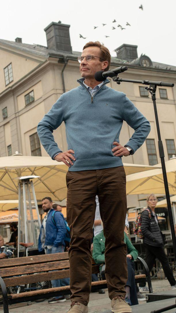 Ruotsin kokoomusjohtaja Ulf Kristerssonkin yritti vuorollaan hallituksen muodostamista.