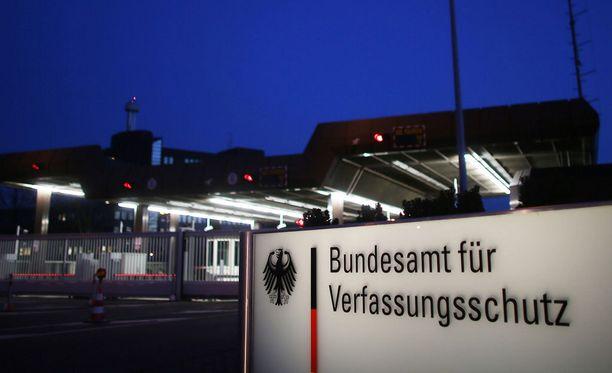 Tiedustelupalvelun päämaja Kölnissä.