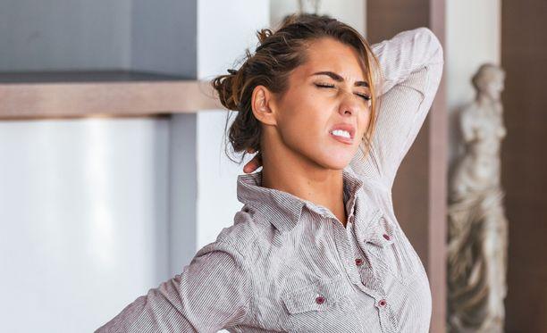 Suurin osa selkä- ja niskakivuista on toiminnallisia.