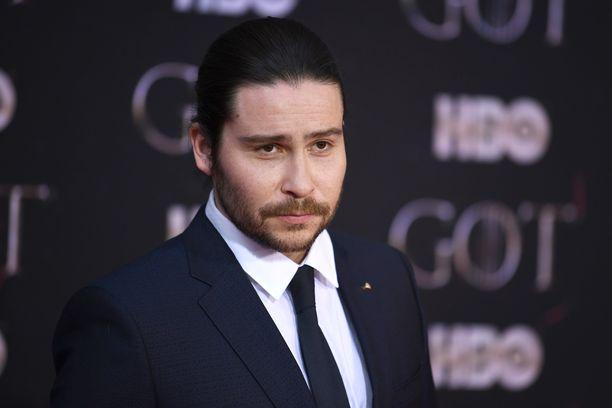 Daniel Portman Game of Thronesin ensi-illassa New Yorkissa huhtikuussa 2019.