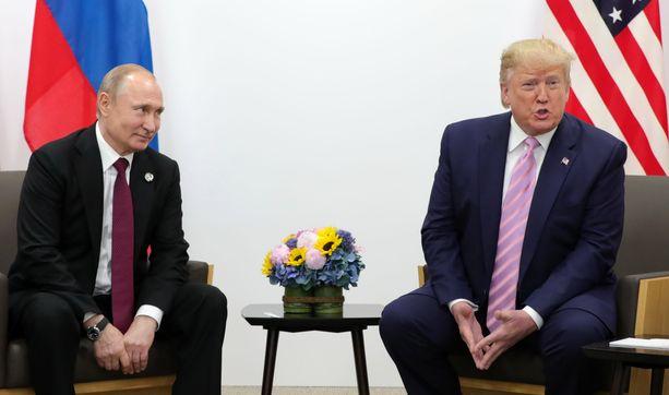 Presidentti Trumpin mukaan hänellä ei olisi mitään sitä vastaan, jos Venäjä kutsuttaisiin takaisin G8-ryhmään.