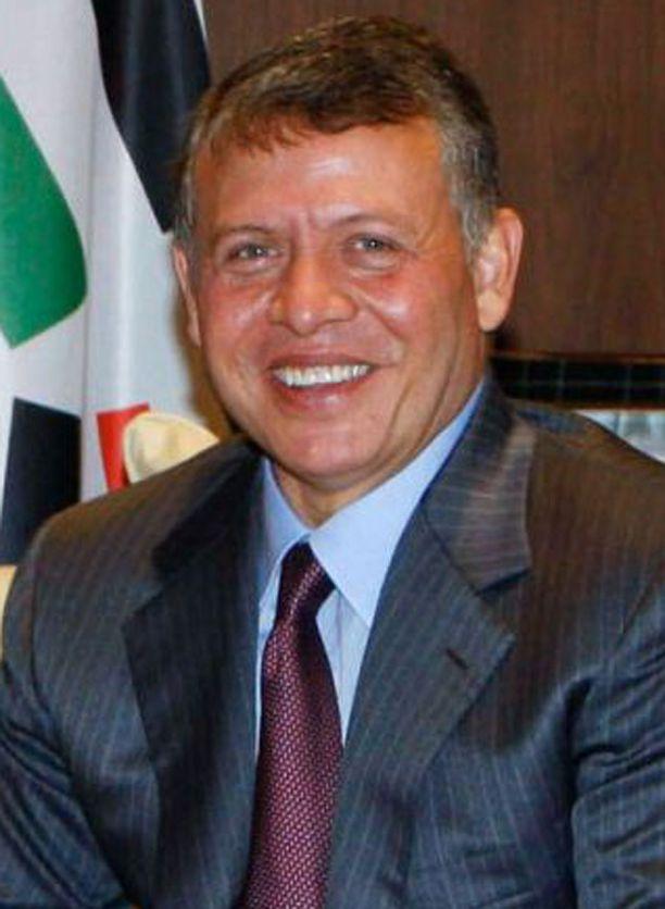 Jordanian kuningas Abdullah.