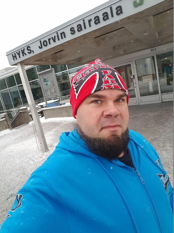 Juha Harju pääsi sairaalasta kotiin 24. helmikuuta.