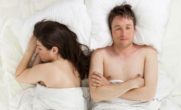 Suuri osa erektiohäiriöistä johtuu fyysisistä sairauksista.