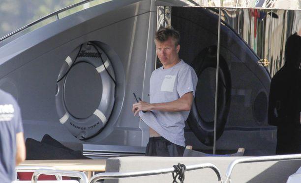 Kimi Räikkönen on omistanut Iceman-nimisen jahdin vuodesta 2009 lähtien.