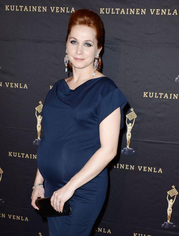Leena Pöysti teki upean roolisuorituksen Roba-sarjassa ennen lapsen syntymää.