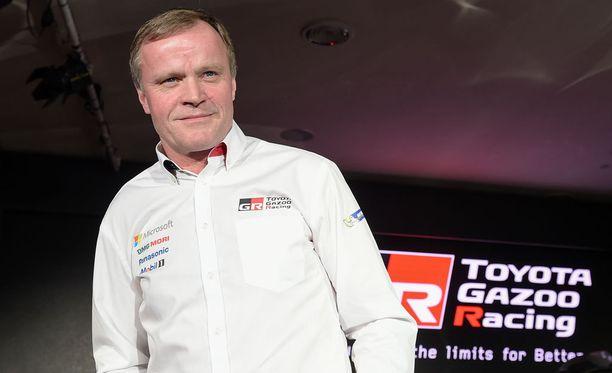 Nelinkertainen maailmanmestari Tommi Mäkinen johtaa Toyotan suomalaistiimiä.